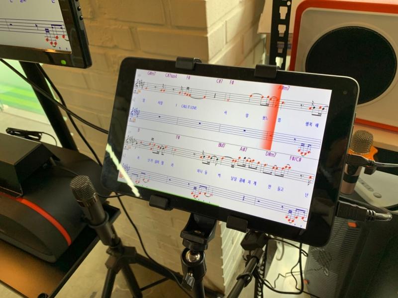 10.1寸智能音乐学习平板电脑应用案例